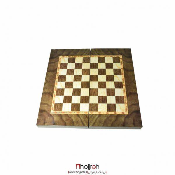 خرید تخته نرد و شطرنج طرح گردو از حجره