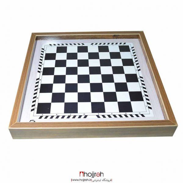 خرید بازی شطرنج و تخته نرد ام دی اف mdf طرح اسب و مینیاتوری از حجره