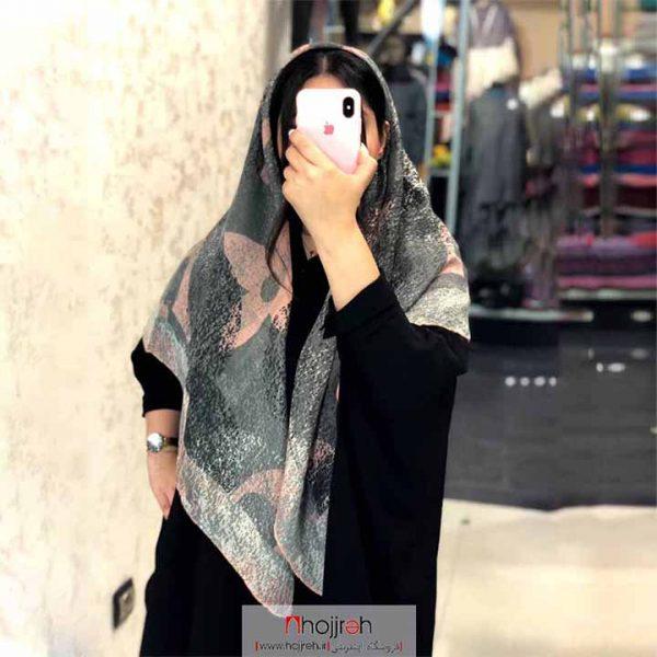 خرید روسری نخی دور دست دوز حجره آنیا