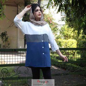 خرید مانتو اَبرو بادی پرچمی حجره آلبا شاپ