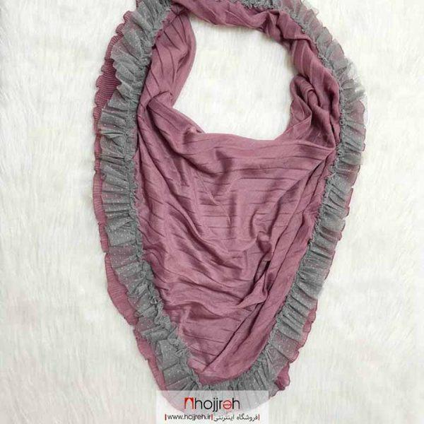 خرید روسری نخی دامنی حجره دیبا گالری