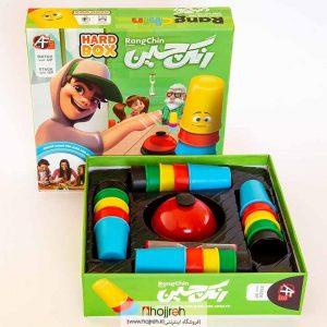 خرید بازی رنگ چین هارد باکس حجره اسباب بازی حمید