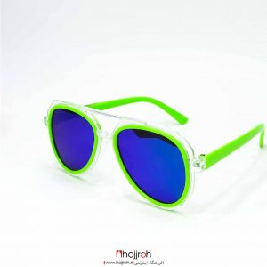 خرید عینک طرح ریبن بچه گانه سبز رنگ uv400 یو وی 400 از حجره