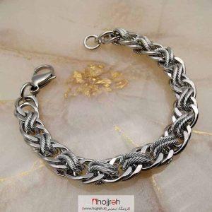 خرید دستبند دخترانه استیل ضد حساسیت حجره دیبا گالری