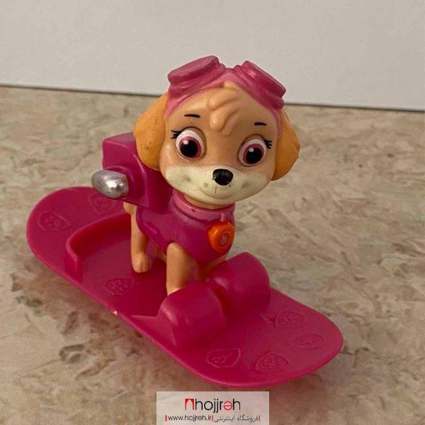 خرید فیگور سگ های نگهبان اسکیت سوار حجره اسباب بازی حمید