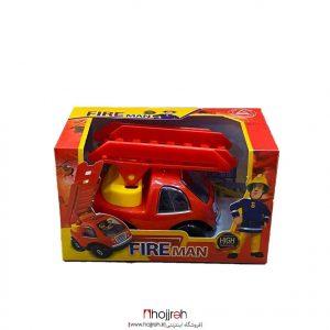 خرید ماشین آتشنشانی پلاستیکی حجره اسباب بازی حمید