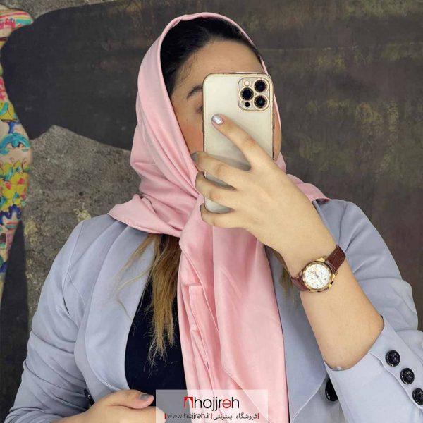 خرید روسری ساتن مات حجره دیبا گالری