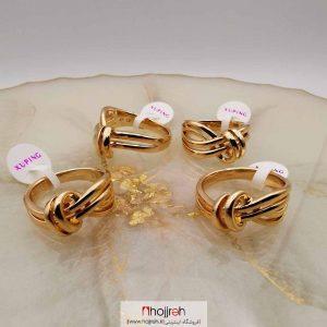 خرید انگشتر ژوپینگ استیل آبکاری طلا حجره دیبا گالری