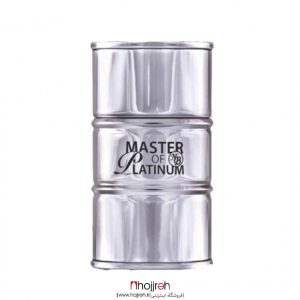 خرید ادو پرفیوم مردانه مدل Master Of Platinum مستر آف پلاتینیوم نیو برند 100 میل حجره آرانو
