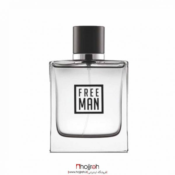 خرید ادوتویلت مردانه مدل Free Man فری من نیو برند 100 میل حجره آرانو