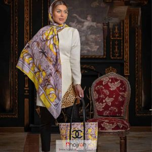 خرید ست روسری و کیف طرح CHANEL حجره روشا گالری