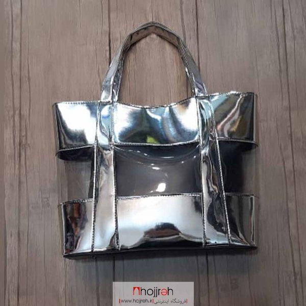 خرید کیف طلقی سایز بزرگ به همراه کیف داخلی حجره روشا گالری