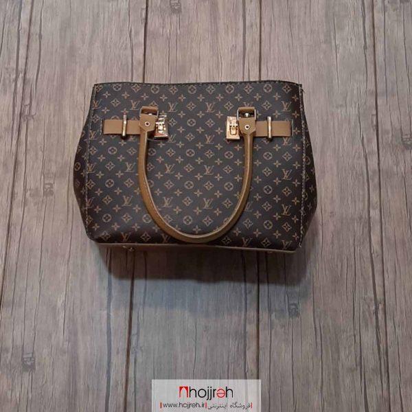 خرید کیف دستی سه زیپ زنانه طرح LV حجره روشا گالری