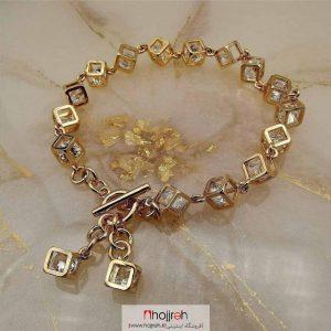 خرید دستبند ژوپینگ آبکاری شده از حجره