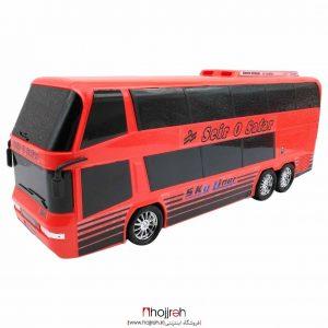 خرید اتوبوس دو طبقه قدرتی حجره اسباب بازی حمید