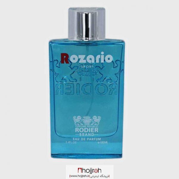 خرید ادو پرفیوم رودیر مردانه مدل Rozario حجم 100 میلی لیتر حجره آرانو