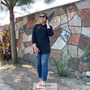 خرید مانتو مشکی حجره آلبا شاپ