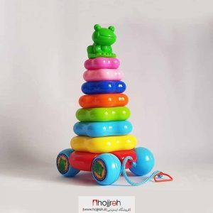 خرید حلقه هوش قورباغه بزرگ چرخ دار حجره اسباب بازی حمید