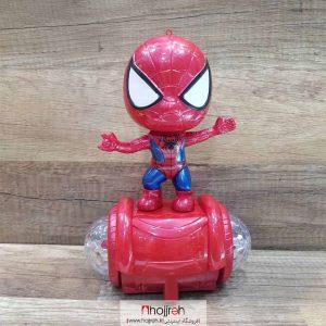 خرید مرد عنکبوتی باطری خور حجره اسباب بازی حمید