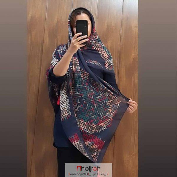 خرید روسری نخی منگوله دار حجره روشا گالری