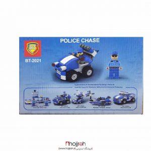 خرید لگوی پلیس ماشین موشک انداز حجره اسباب بازی حمید