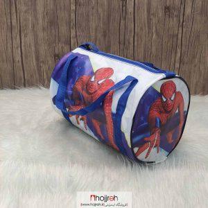 خرید ساک ورزشی بچه گانه طرح مرد عنکبوتی حجره روشا گالری