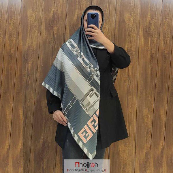 خرید روسری ساتن قواره دار حجره آرانو