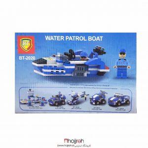 خرید لگوی پلیس قایق موتوری حجره اسباب بازی حمید