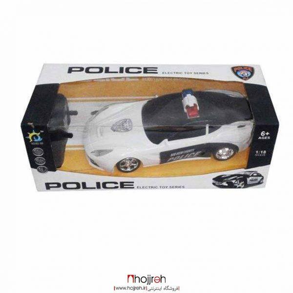 خرید ماشین کنترلی پلیس حجره اسباب بازی حمید