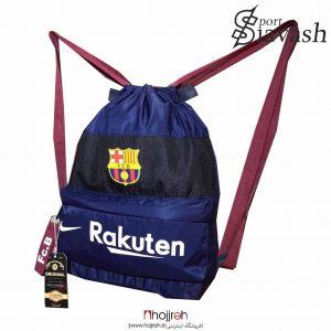 خرید ساك و کوله ورزشی حرفه ای تیم بارسلونا حجره لوازم ورزشی سیاوش
