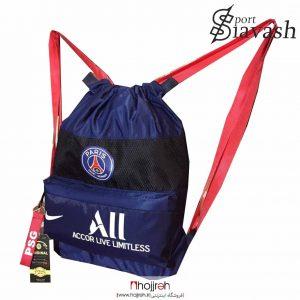خرید ساك و کوله ورزشی حرفه ای تیم پاریسن ژرمن حجره لوازم ورزشی سیاوش