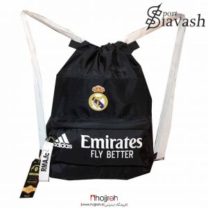 خرید ساك و کوله ورزشی حرفه ای تیم رئال مادرید حجره لوازم ورزشی سیاوش