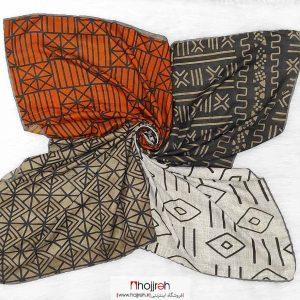خرید روسری نخی کشمیر دست دوز حجره دیبا گالری