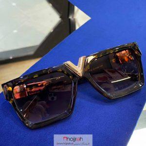 خرید عینک آفتابی uv 400 طرح LV پلنگی حجره گارنت کالکشن