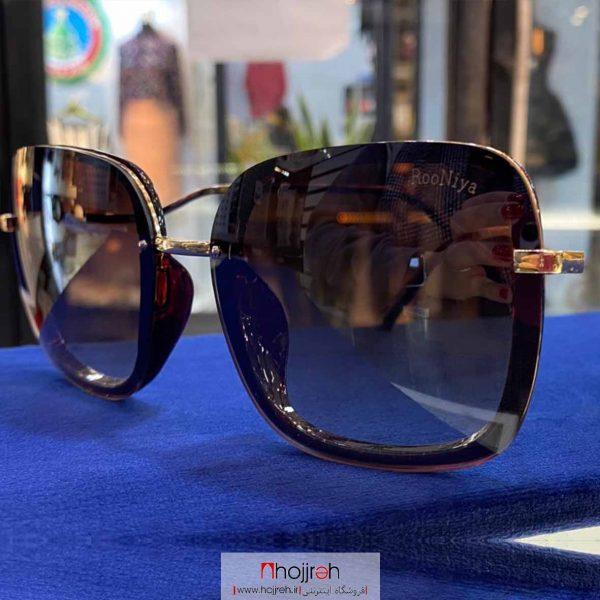 خرید عینک آفتابی uv400 طرح Rooniya حجره گارنت کالکشن