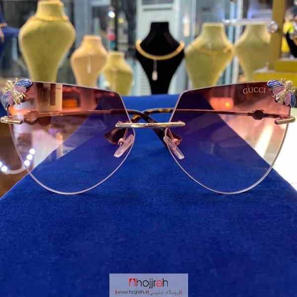 خرید عینک آفتابی uv400 طرح Gucci حجره گارنت کالکشن