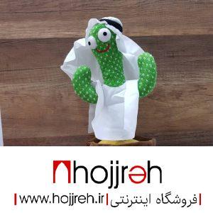 خرید اسباب بازی کاکتوس سخنگو طرح هنرمند عرب از حجره