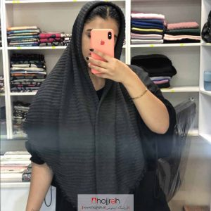 خرید روسری نخی پلیسه از حجره