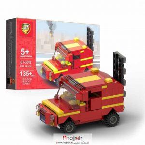 خرید لگو ماشین آتشنشانی حجره اسباب بازی حمید