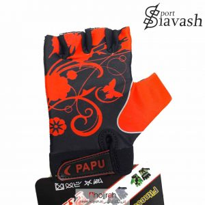 خرید دستکش بدنسازی دخترانه برند PAPU حجره لوازم ورزشی سیاوش